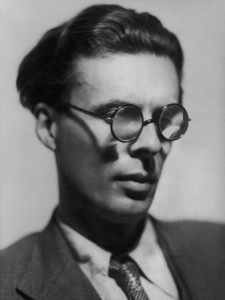 Aldous Huxley as a young man